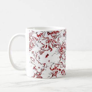 Red Waterwash Designer Mug 4