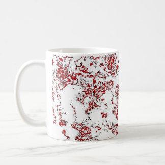 Red Waterwash Designer Mug 5