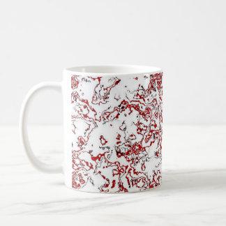 Red Waterwash Designer Mug 6
