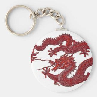 Red Wax Dragon Key Chain