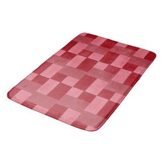 Red Weave Bath Mat Bath Mats