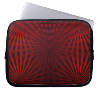 Red Web Laptop Sleeve
