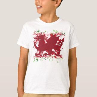 Red Welsh Dragon Kid's Light T-Shirt