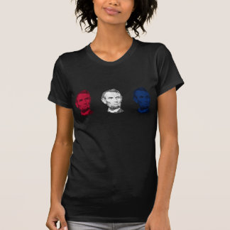 Red, White, and Blue Abraham Lincoln T-Shirt