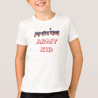 Red White and Blue America Service Tee Shirt