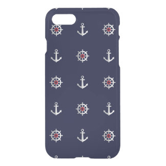 Red White And Blue Anchor Pattern iPhone 8/7 Case
