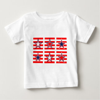 red,white and blue baby T-Shirt