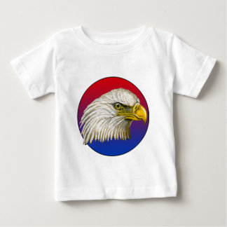 Red White and Blue Bald Eagle Tshirt