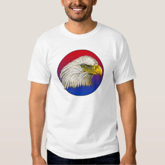 Red White and Blue Bald Eagle Tshirts