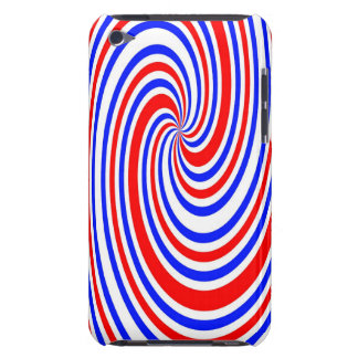 Red white and blue barely there iPod cover