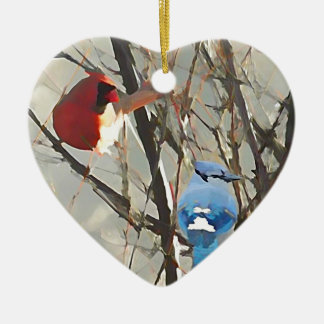 Red, White and Blue Christmas Ornament