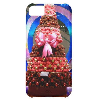 Red white and blue Christmas trees Cover For iPhone 5C