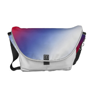 Red, White and Blue Courier Bag