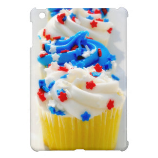 Red, White and Blue Cupcakes Cover For The iPad Mini