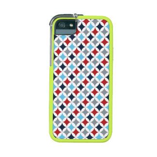 Red White And Blue Diamonds iPhone 5/5S Covers