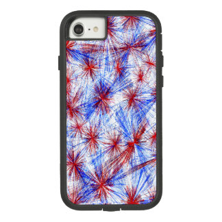Red White And Blue Fireworks Cell Phone Cover