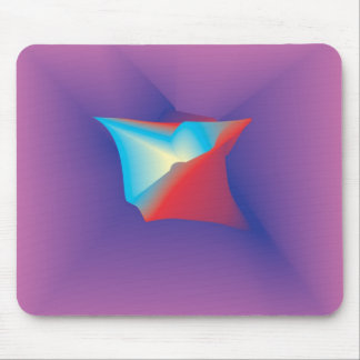 Red White and Blue in Royalty Mouse Pads