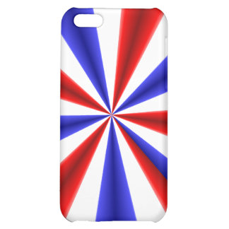 Red White and Blue iPhone 5C Case