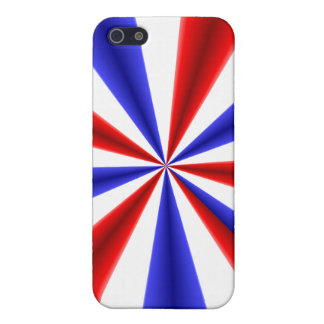 Red White and Blue iPhone 5 Case