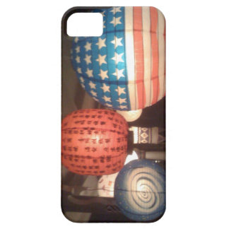 Red White and Blue Lantern at Illumination Night Barely There iPhone 5 Case