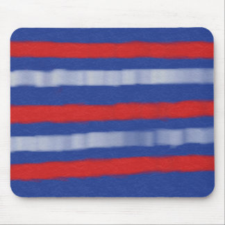 Red, White, and Blue Mouse Pad