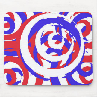 Red White and Blue Mousepad