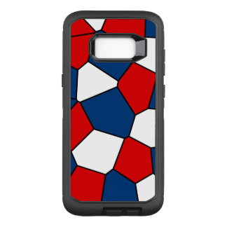Red, White and Blue Pattern OtterBox Defender Samsung Galaxy S8+ Case