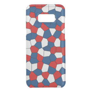 Red, White and Blue Pattern Uncommon Samsung Galaxy S8 Plus Case