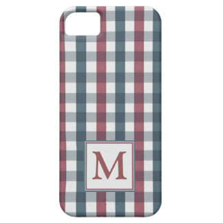 Red, white and blue plaid iPhone 5 covers
