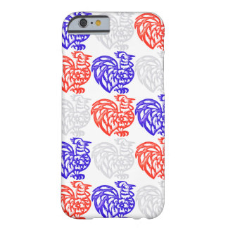 Red White and Blue Rooster Barely There iPhone 6 Case