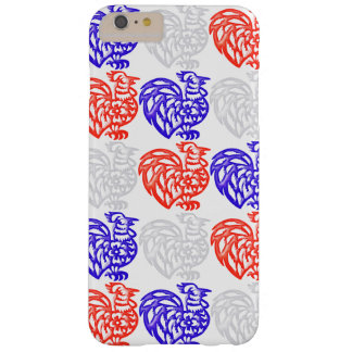 Red White and Blue Rooster Barely There iPhone 6 Plus Case