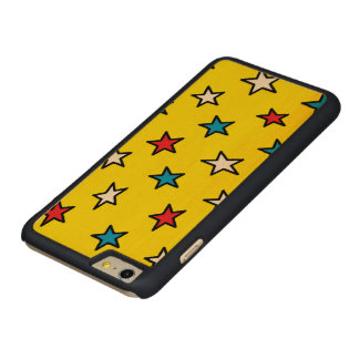 red, white and blue star phone case