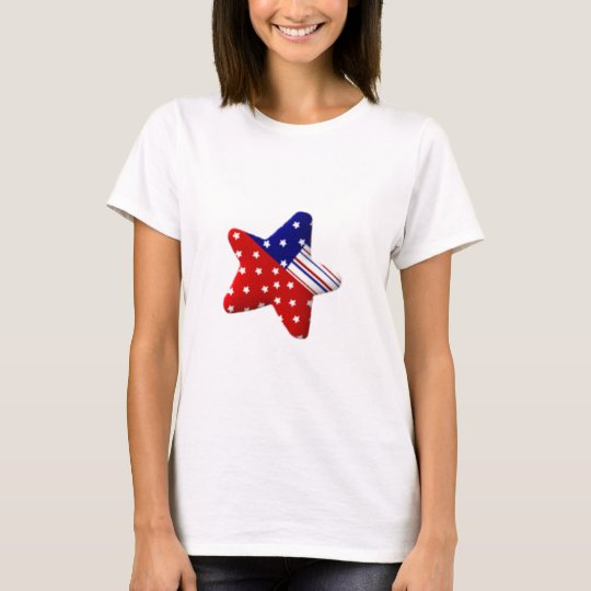 Red White and Blue Star T-Shirt