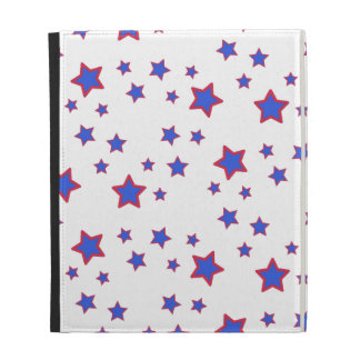Red, White, and Blue Stars iPad Cases