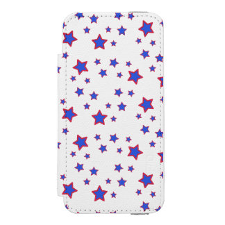 Red, White, and Blue Stars Incipio Watson™ iPhone 5 Wallet Case