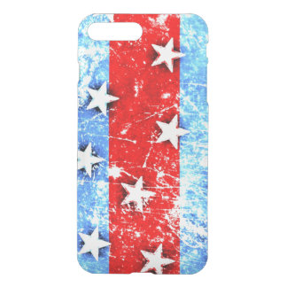 Red white and Blue stars iPhone 8 Plus/7 Plus Case