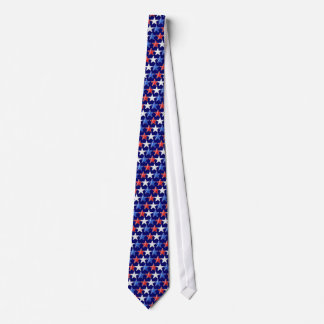 Red, White and Blue Stars Tie