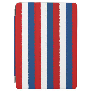 Red, White and Blue Stripe iPad Air Cover