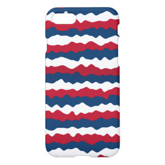Red, White and Blue Stripe Patriotic iPhone 8/7 Case