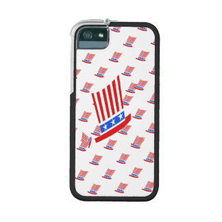 Red White and Blue Stripes and Star Case For iPhone 5/5S