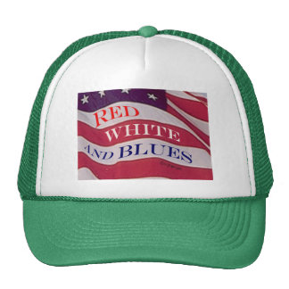 Red White and Blues Cap