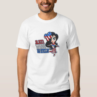 Red, White and Hula Infants & Toddler T-shirts