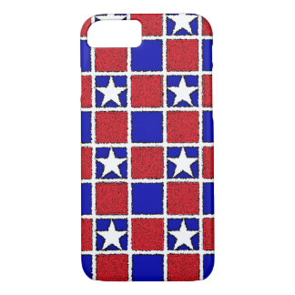 Red, White and Stars Case