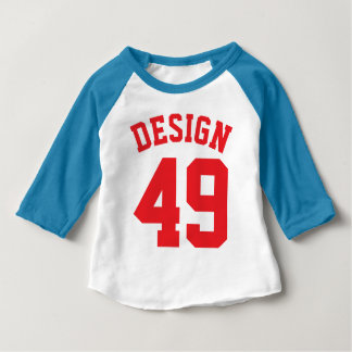 Red White & Blue Baby | Sports Jersey Design Shirts