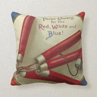 Red White & Blue Cushion