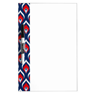 Red, White, & Blue Dragon Scale Dry-Erase Board