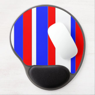 Red White Blue Gel Mousepad