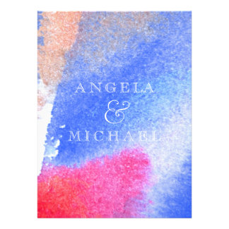 Red White Blue Invites