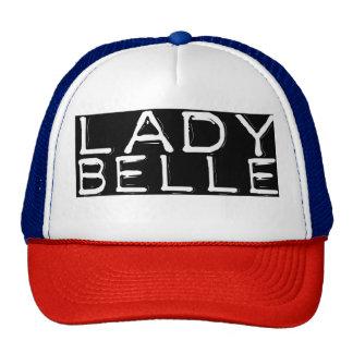 "Red, White & Blue ""Lady Belle"" Trucker Hat"
