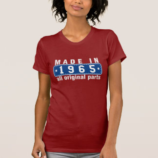 Red White Blue MADE in 1965 All ORIGINAL Parts Tee